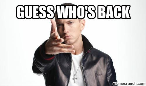 eminem guess who's back